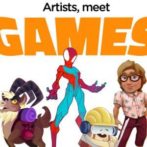 Artists Meet Games 2! שיחת היכרות עם ארבעה אמנים מתעשיית המשחקים הישראלית